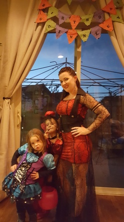 2 vampires and 1 sassy fairy, lol!
